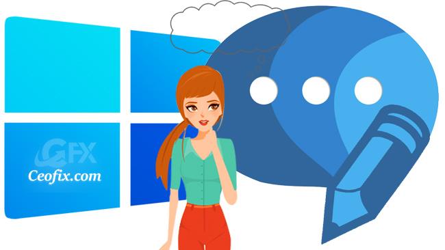 Sen Konuşurken Windows Bilgisayarın Yazsın-Programsız